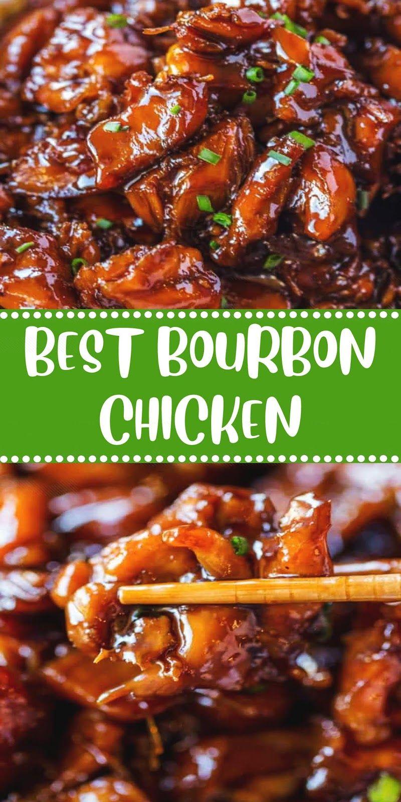 Best bourbon chicken in 2020 bourbon chicken recipe easy