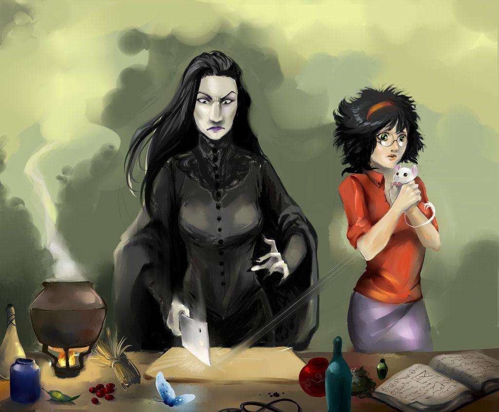 Fem Snarry By Ananovik On Deviantart Fem Harry Potter Severus Snape Fanart Fem Harry