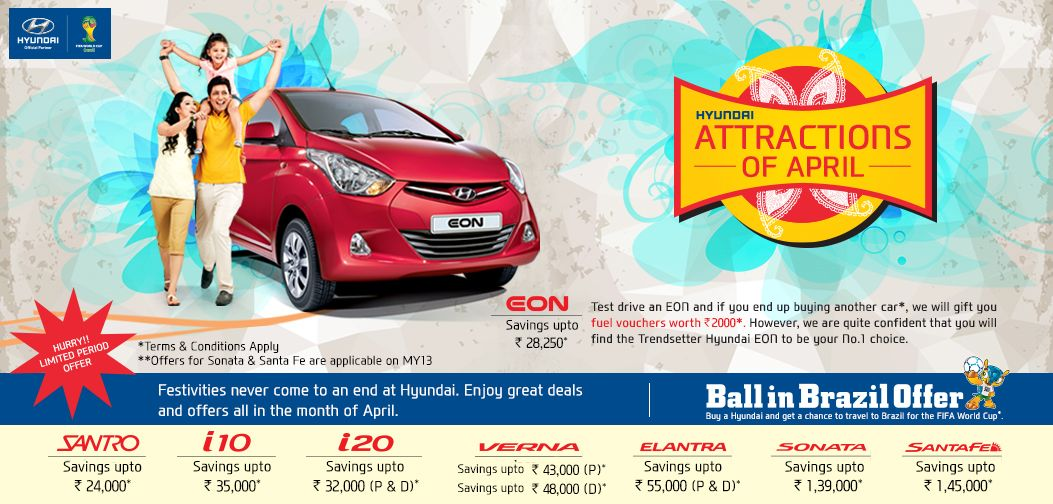 Celebrate The Festive Spirit With Endless Offers From Hyundai