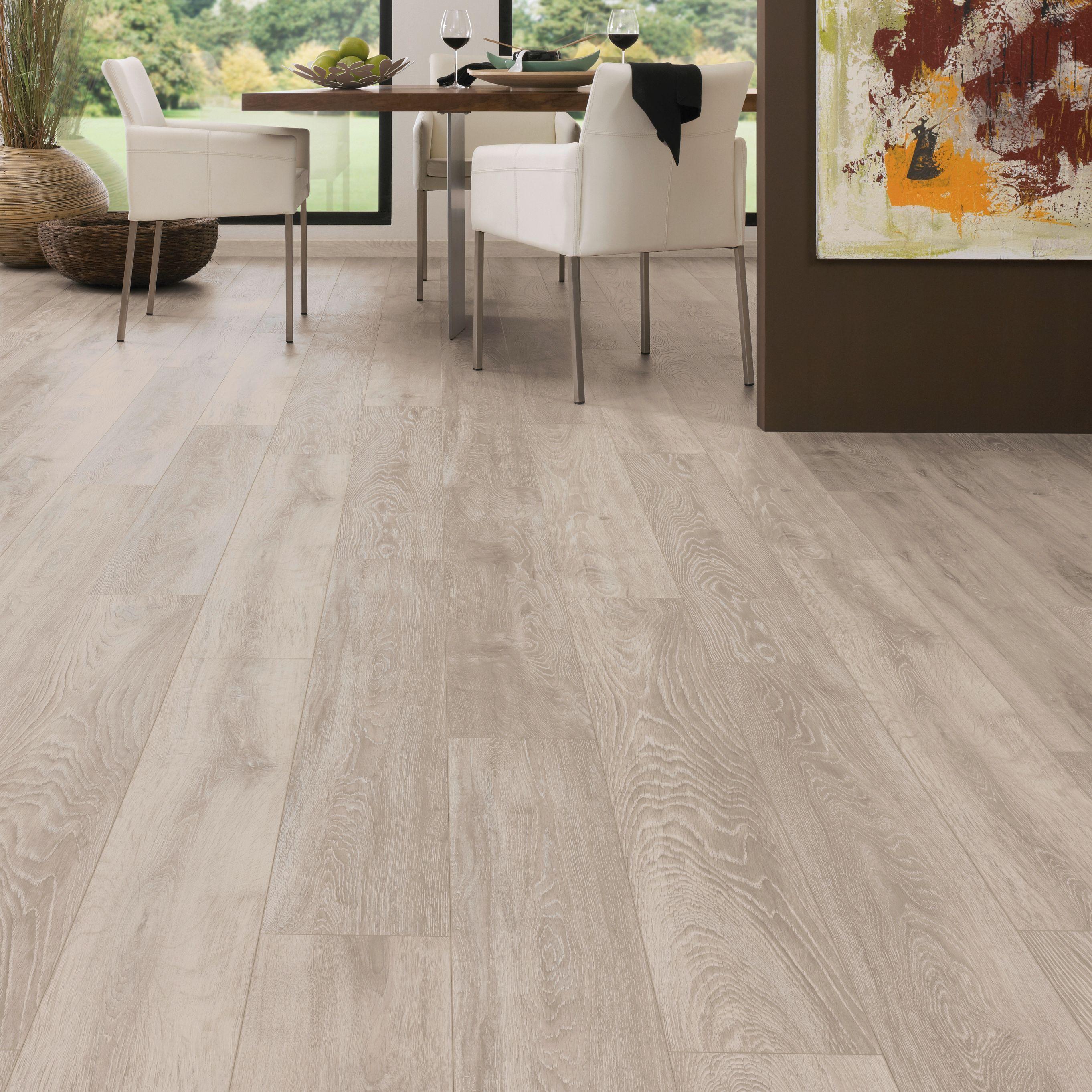 Natural Oak Effect Laminate Flooring Part - 43: Amadeo Boulder Embossed Laminate Flooring 2.22 M² Pack