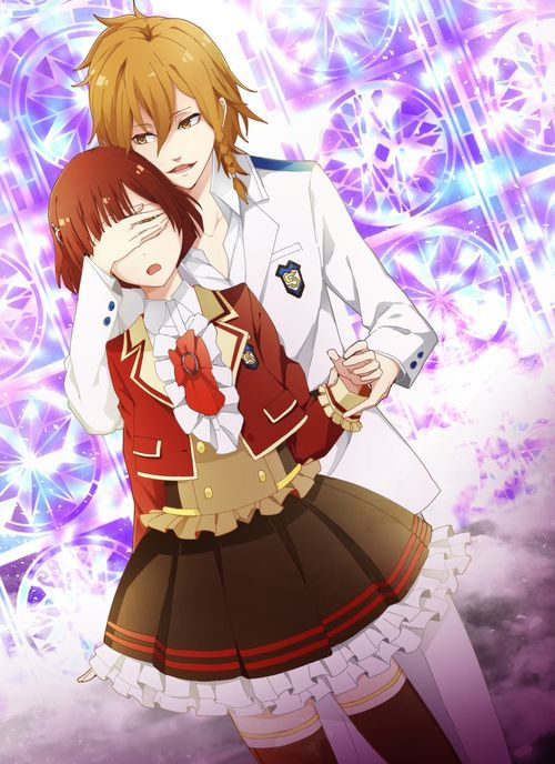 Ritsuka Tachibana And Urie Dance With Devils Anime Romantic