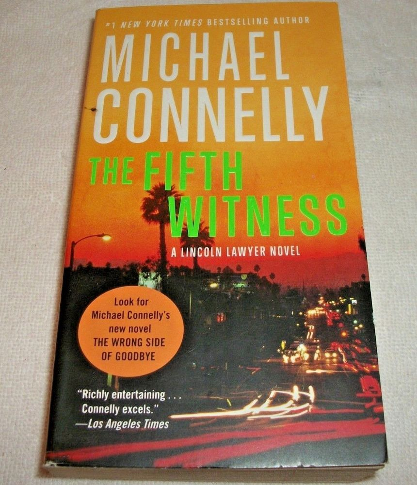 the lincoln lawyer books by michael connelly
