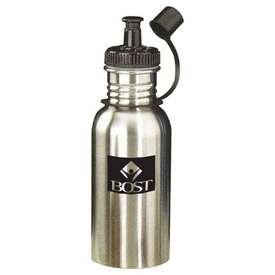 18 Oz Stainless Steel Sports Bottle