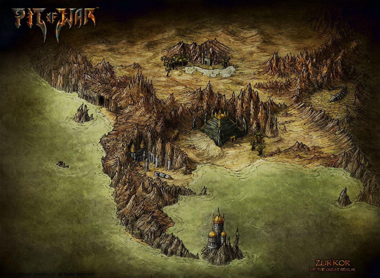 Herman wielinks maps looking for a map for an rpg fantasy novel another piece i did for the mmorpg pit of war you can check out the free to play browser based game at their website pit of war fantasy map zurkor gumiabroncs