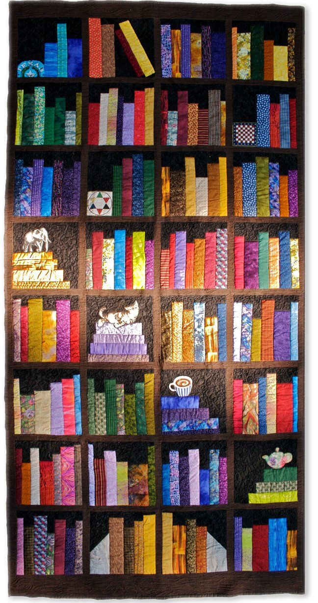 Bookcase Quilt Pattern Amazing Design Inspiration