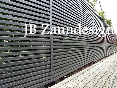 sichtschutzzaun wpc aluminium aluminiumzaun sichtschutz zaeune zaun gartenzaeune garden. Black Bedroom Furniture Sets. Home Design Ideas