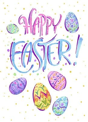 Happy Easter Pastel Happy Easter Messages Happy Easter Wallpaper Easter Messages