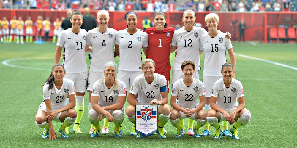 Uswnt At First 2015 Women S World Cup Game Women S Soccer Women S Soccer Team Womens Soccer