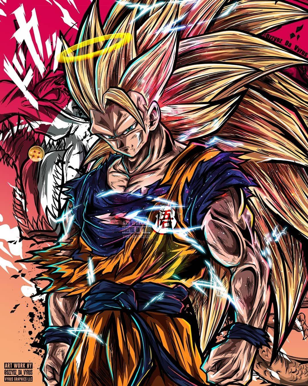 And This Is To Go Even Further And Beyond Goku Super Saiyan 3 The Art Work Anime Dragon Ball Super Dragon Ball Tattoo Dragon Ball Super Artwork