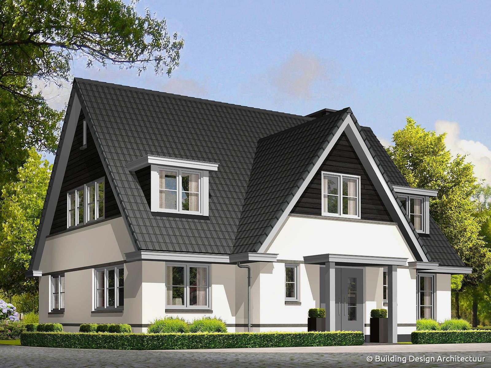 Building design architectuur huizen pinterest huizen for Huizen architectuur
