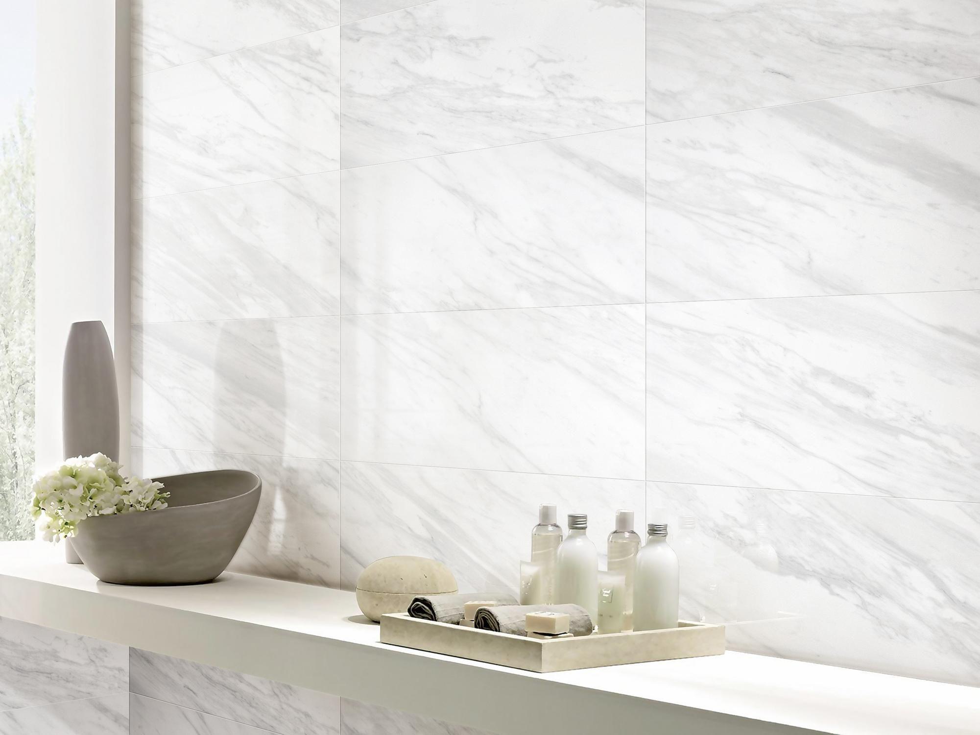 volakas plus polished porcelain tile