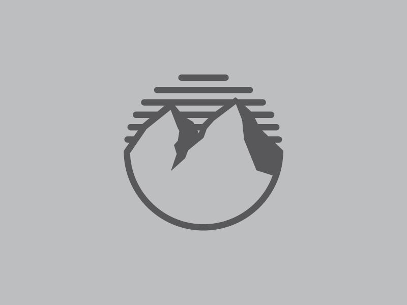 Mountain Range Icon Clever Logo Design Mountain Logos Mountain Designs