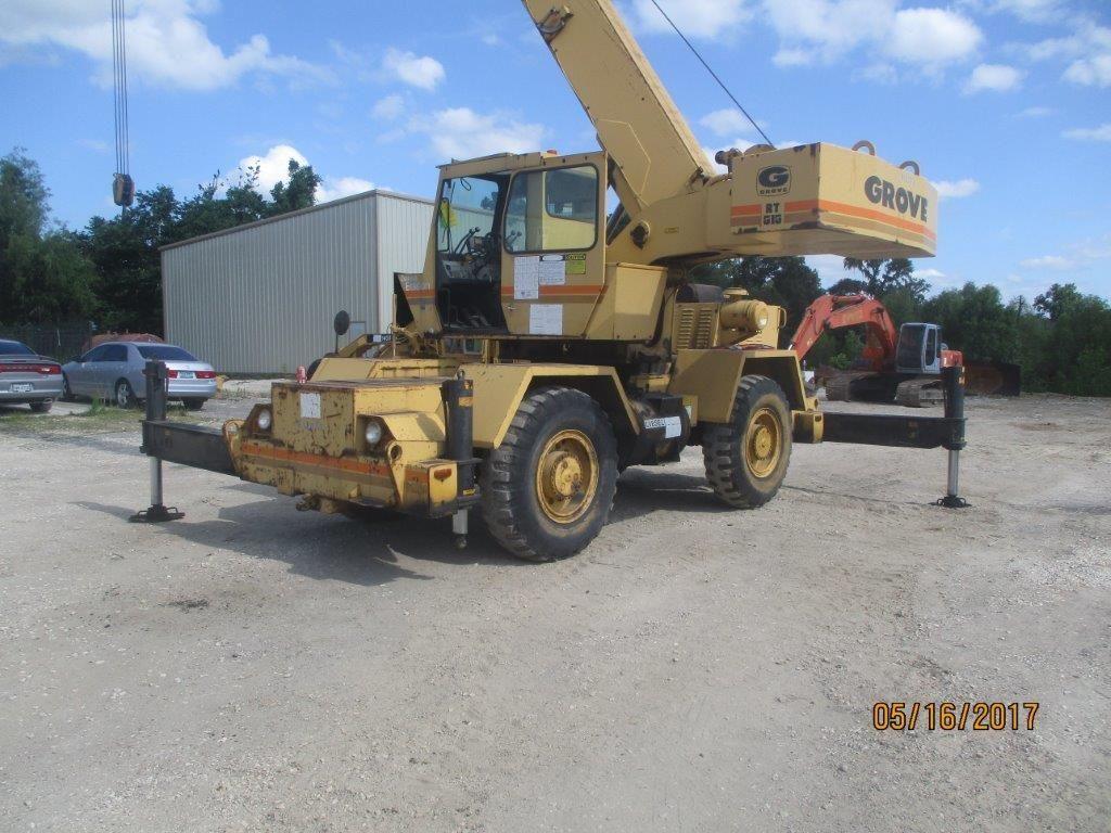 Grove RT515 67381 Crane for sale in Houston TX USA 20k