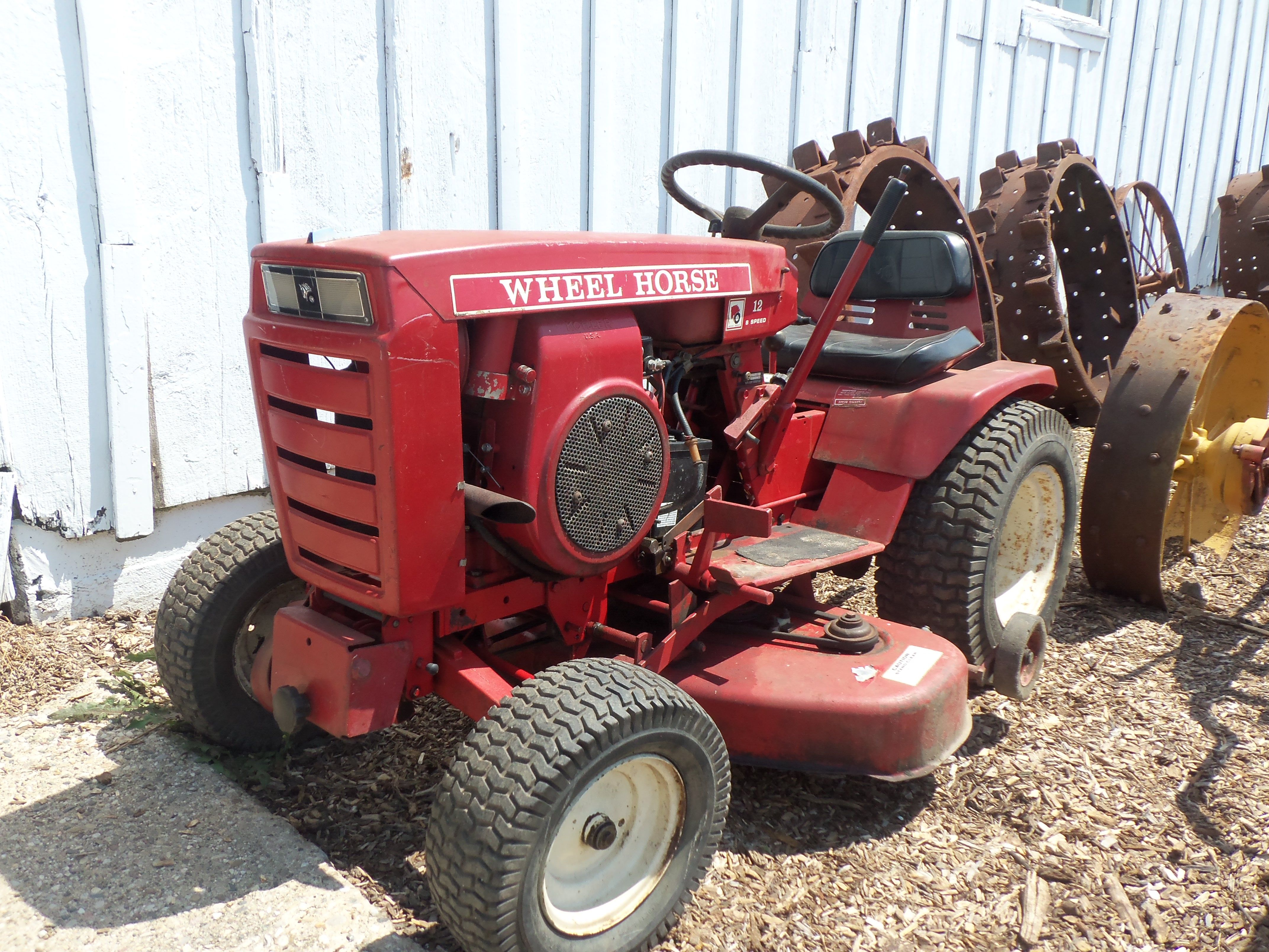 10 20hp wheel horse garden tractor farm equipment pinterest rh pinterest com Wheel Horse Tractor Belts Wheel Horse Tractor Models