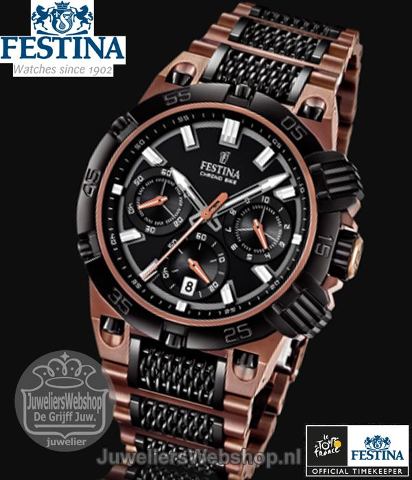 festina f16776 1 tour de france chrono bike limited editon. Black Bedroom Furniture Sets. Home Design Ideas