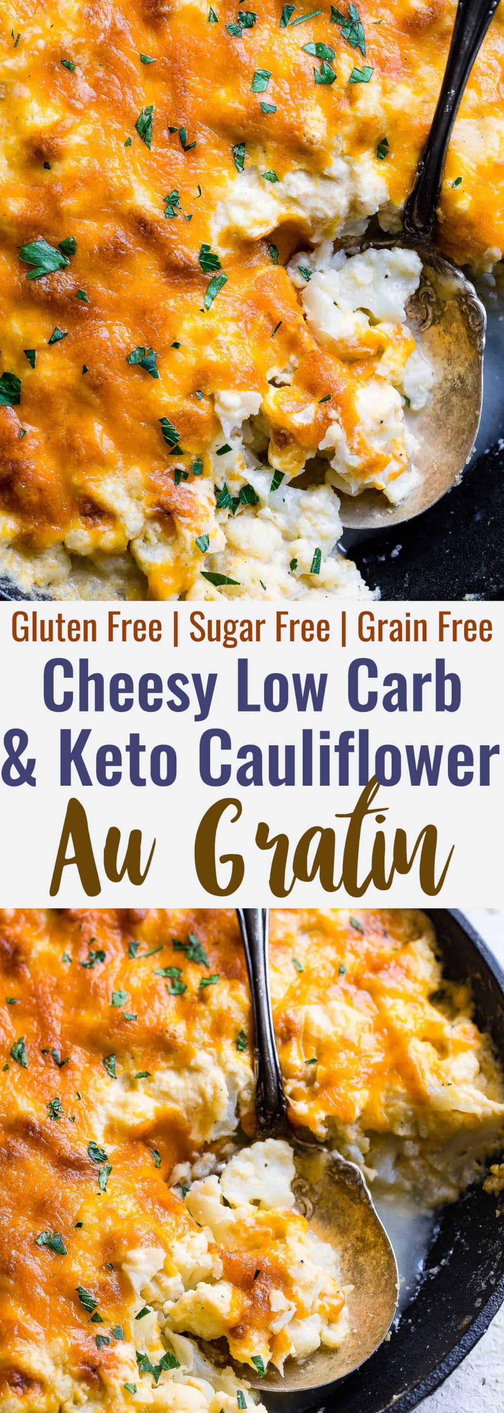 Keto Baked Cauliflower Au Gratin This easy, healthy and