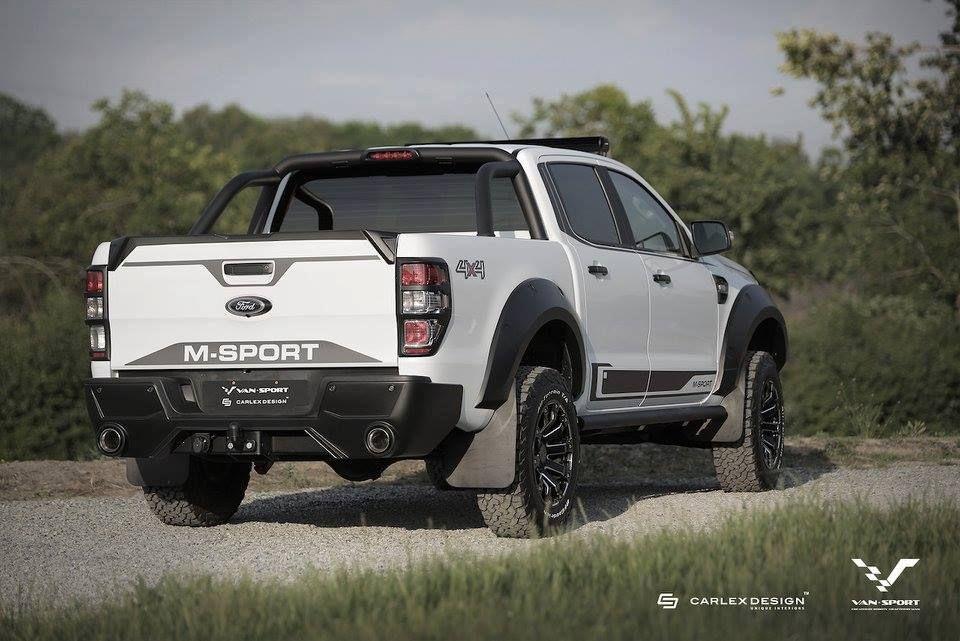 Ford Ranger M Sport Looks Like A Baby Raptor Ford Ranger Abenteuer