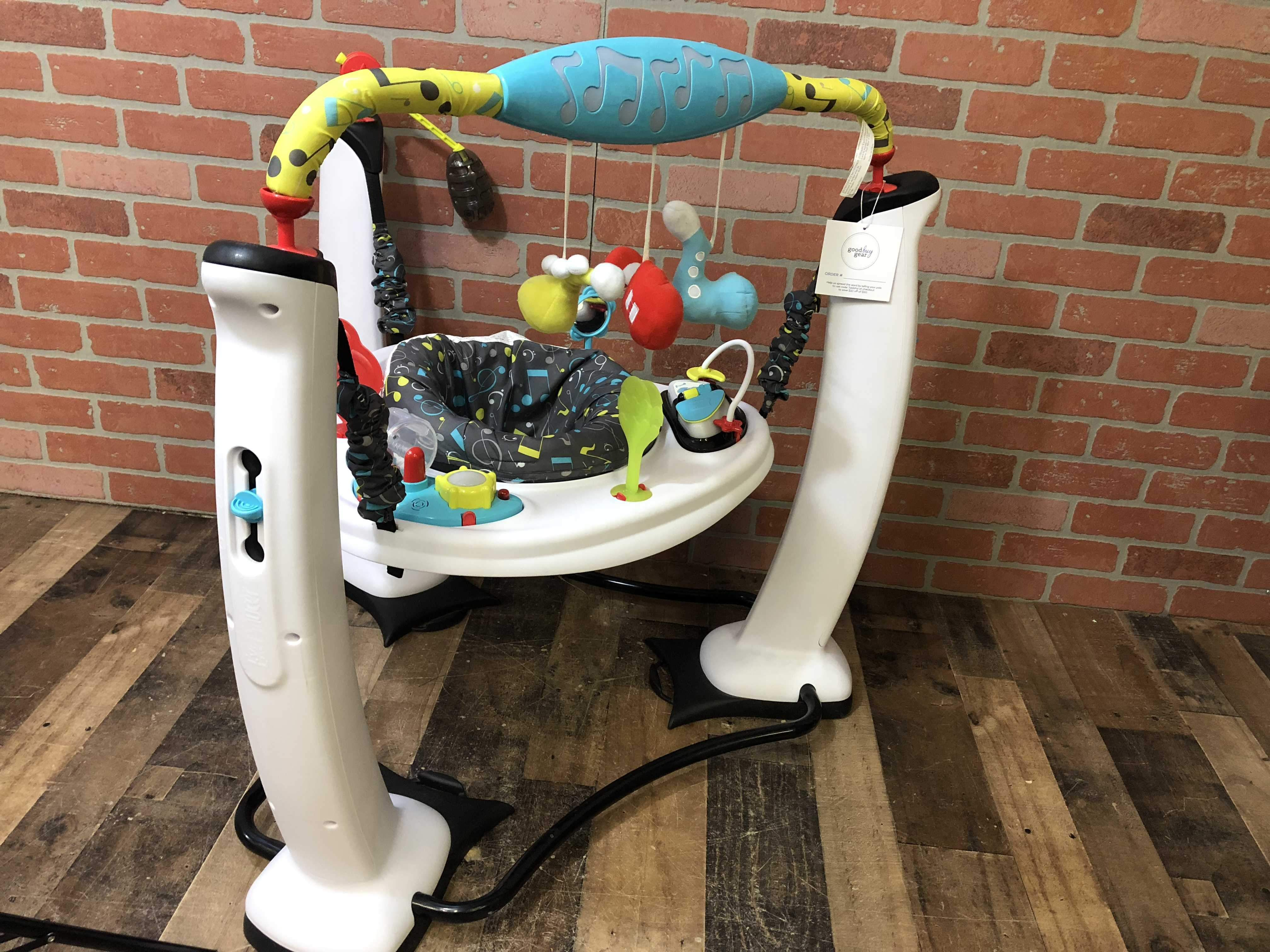 e9451c7b8 Evenflo ExerSaucer Jump And Learn Activity Center Jam Session