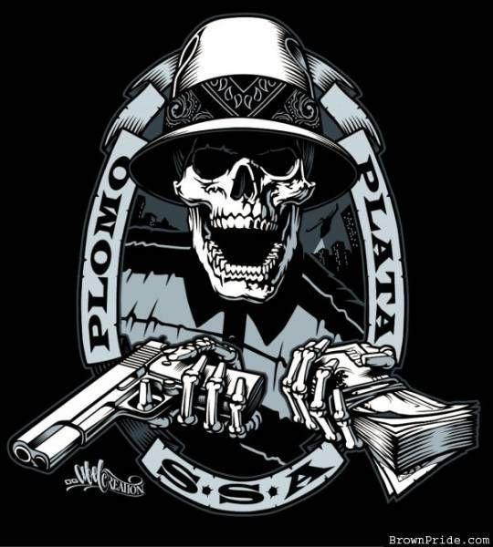 Oakland Raiders Skulls Chicano Skull Raiders Baby