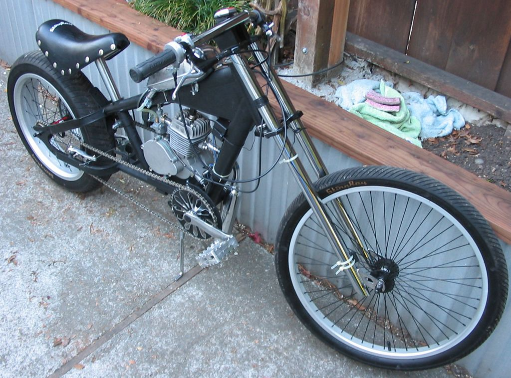 Schwinn Stingray Chopper - Finished | Motored Bikes - Motorized Bicycle Forum