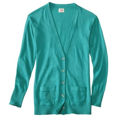 Mossimo Supply Co. Juniors Long Sleeve Cardigan - Assorted Colors Like pretty much all colors except pink and red :)