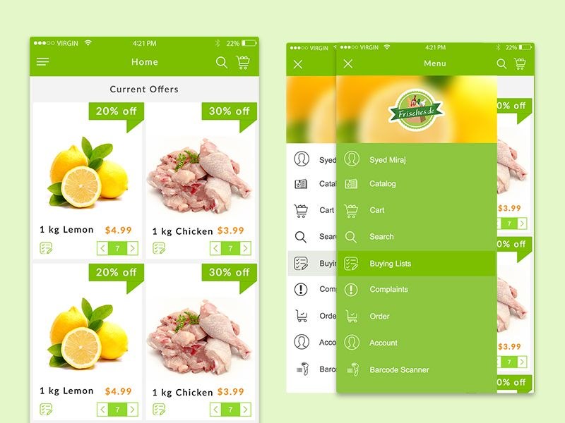 Pin on UI Grocery