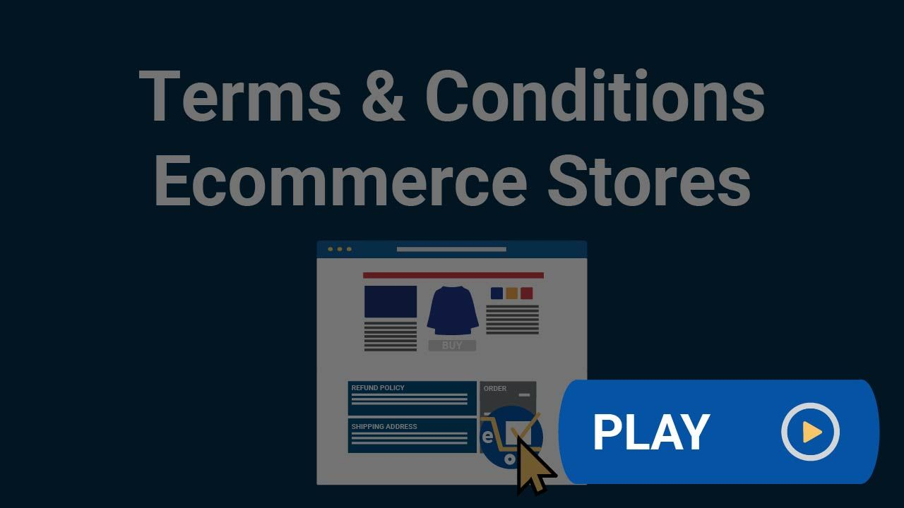 Your Ecommerce Store Should Have A Terms And Conditions Agreement