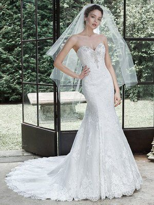 3fc2ae595066a MS54 Mermaid Trumpet Wedding Dresses, Sweetheart Wedding Dress, Maggie  Sottero Wedding Dresses, 2015