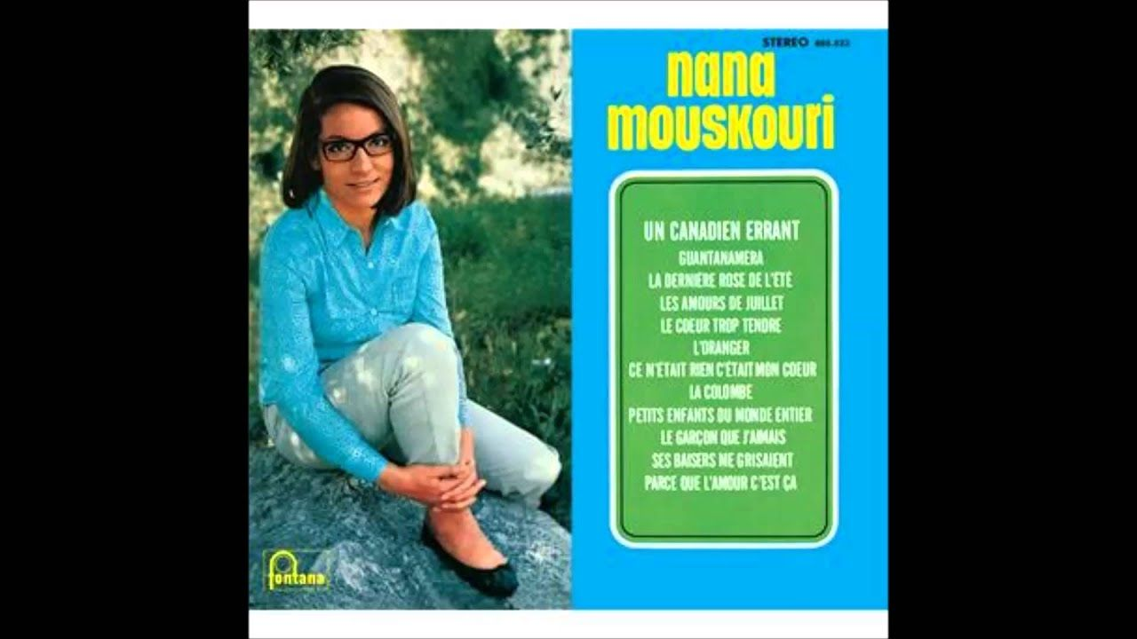 Nana Mouskouri L Oranger Youtube Songs Mercury Records