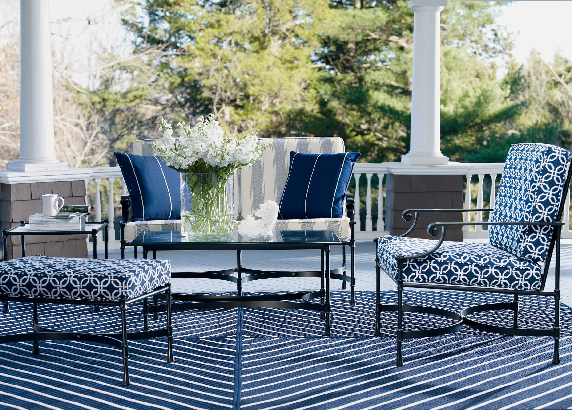 Go Blue Home and Garden Ethan Allen Space outdoor