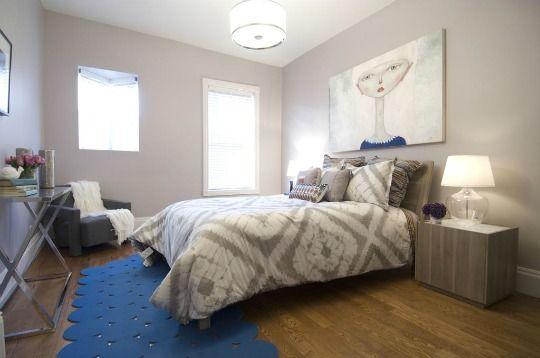 Ideas e inspiración para decorar dormitorios blancos Blanco y negro