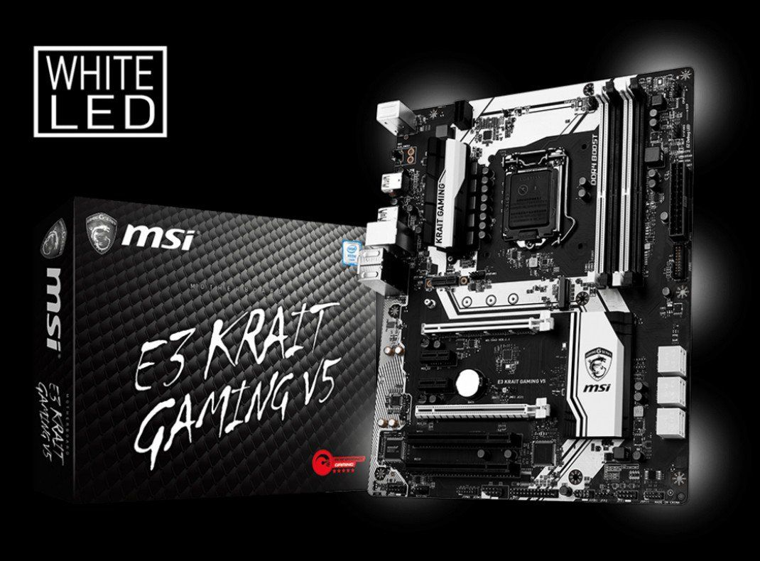 MSI E3 Krait Gaming V5 and E3M Workstation V5 motherboards go official - http://vr-zone.com/articles/msi-e3-krait-gaming-v5-e3m-workstation-v5-motherboards-go-official/109098.html