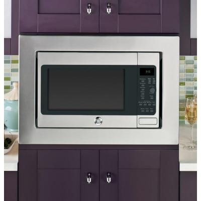 Ge Profile 1 5 Cu Ft Countertop Convection Microwave In