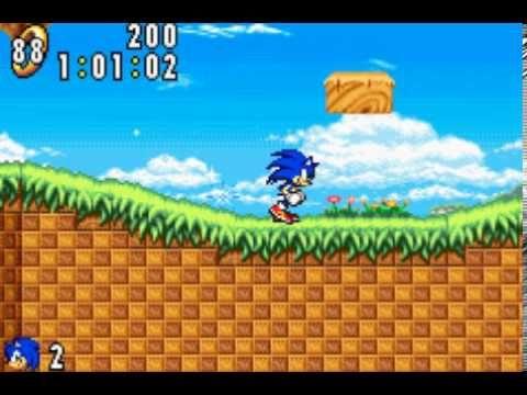 Sonic Advance 1 2001 Gba Game Boy Advance Sonic Nintendo Game Boy Advance