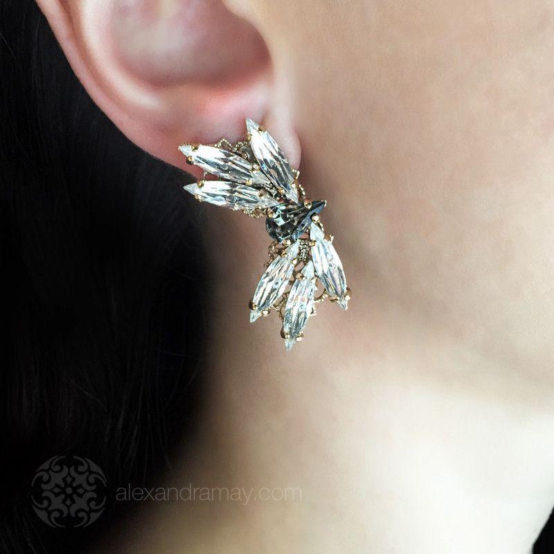 Anton Heunis 'Princess Bride' Dragonfly Motif Earrings (WDN3.03)   Alexandra May Jewellery