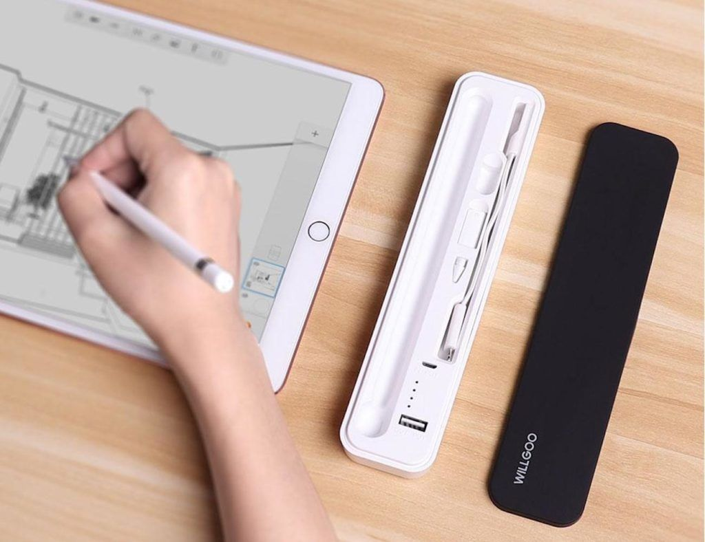 newest 6128c f4b20 Willgoo Apple Pencil Power Bank Carrying Case | Useful Products From ...