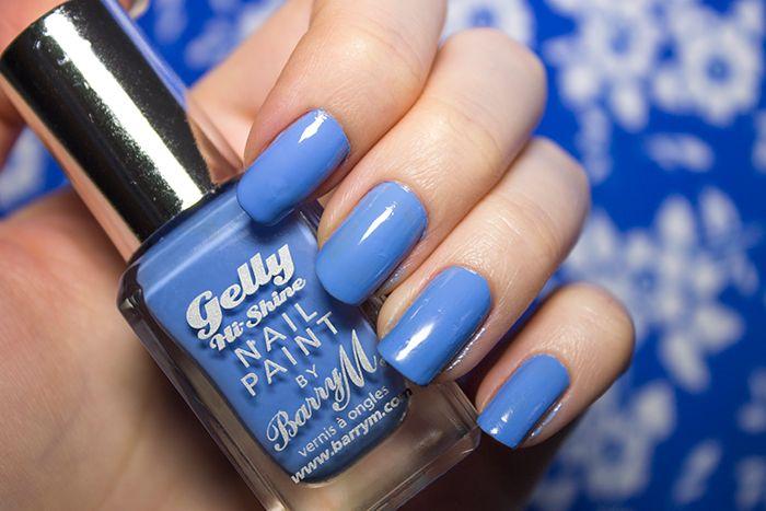 Barry M Hi-Shine Gelly Nail Paint in Blueberry | Beauty Aesthetic: UK/Scottish Makeup and Beauty Blog #bbloggers #makeup #cosmetics #beauty #scottishbloggers #nails #barrym #nailpolish #nailart #gel #gelnails