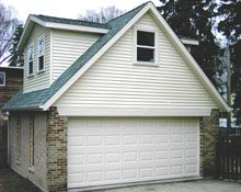 Custom 20x20 Gable Garage With Gable Dormers Custom Garages Garages Outdoor Structures