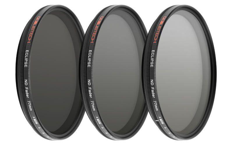 Genustech 82mm Eclipse ND Fader Filter