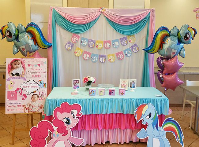 My Little Pony Decoration Setup My Little Pony Decorations Pony