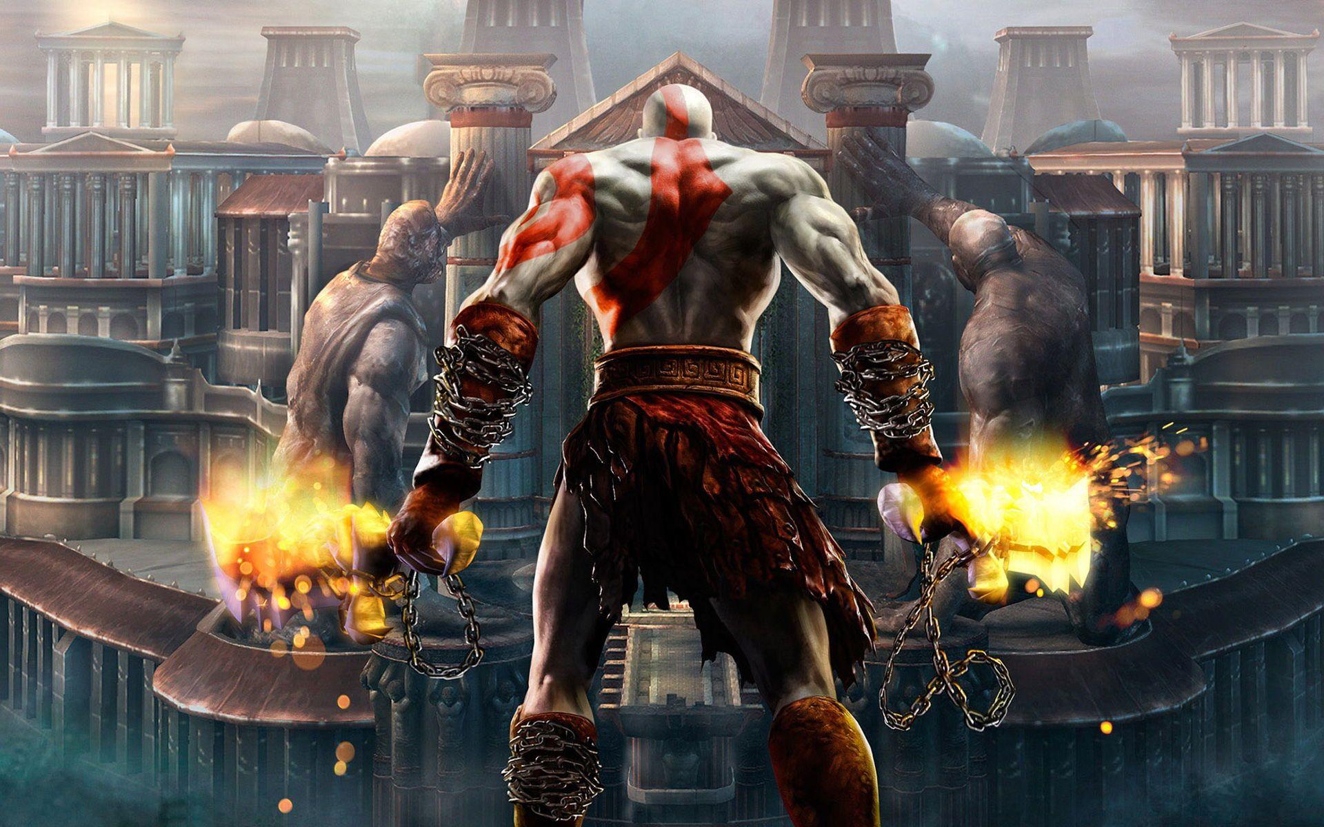 Them Back Gains Are Mad Kratos God Of War God Of War War