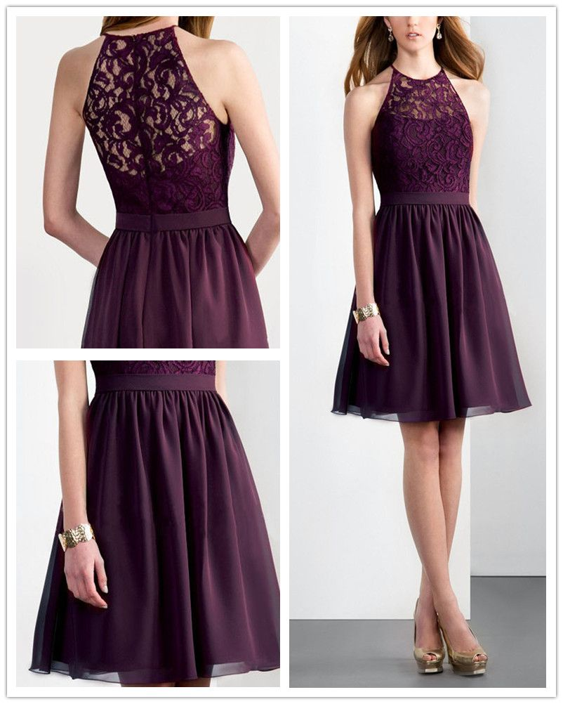 Violet Purple Nail The Mix Amp Match Bridesmaid Dresses