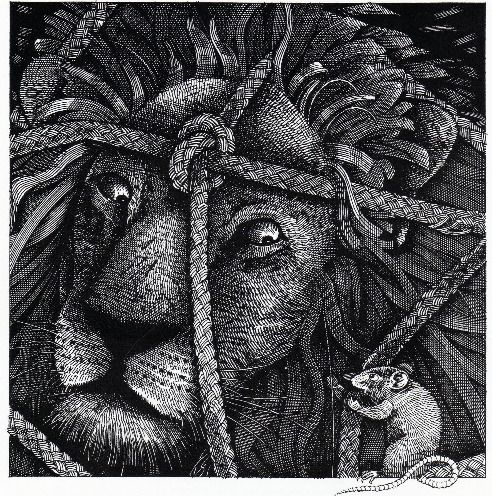 John Vernon Lord The Lion And The Mouse