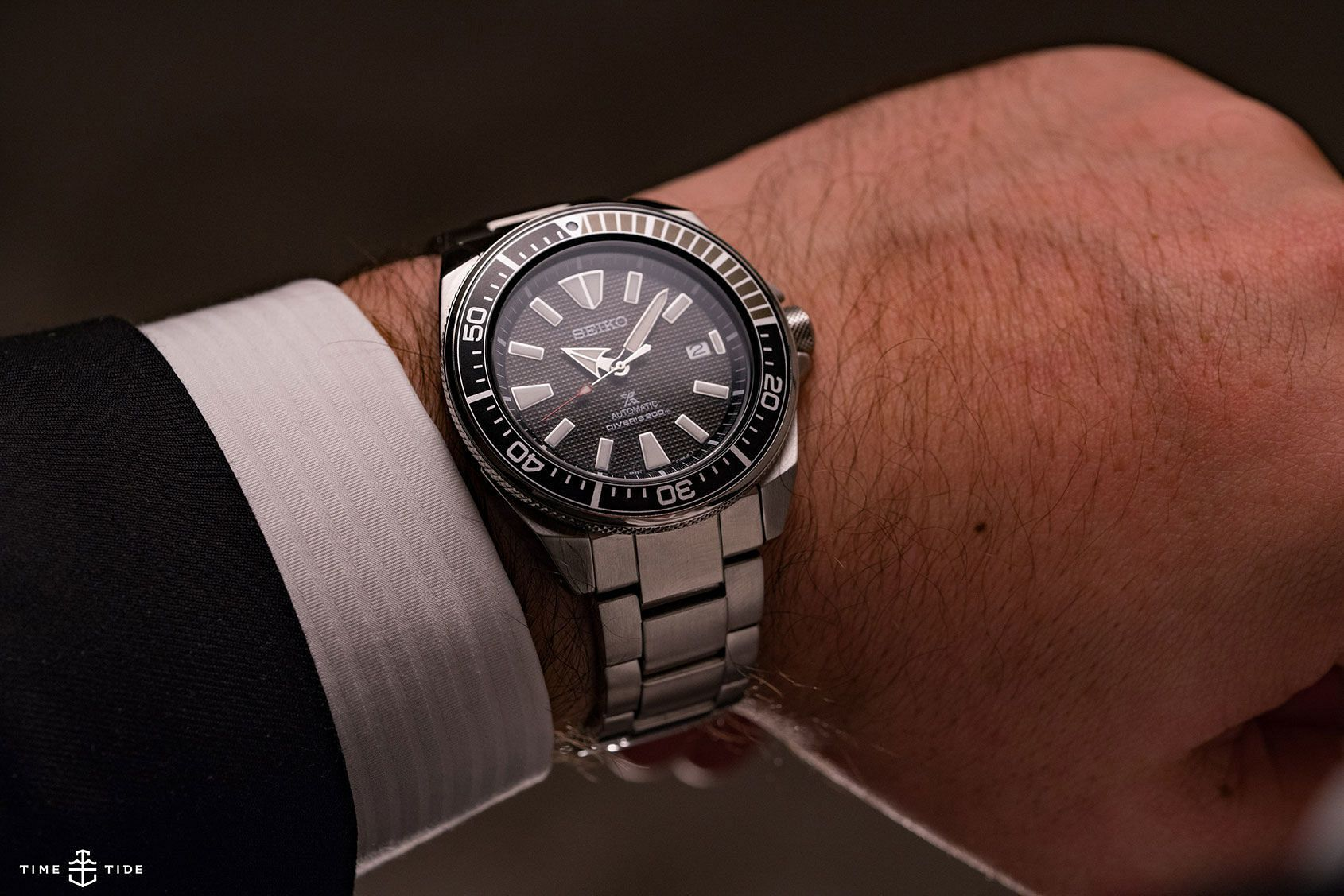 c4a2eec5876 Time to dust off your Kurosawa because the Seiko Samurai is back. We take a  look at the latest version of this cult diver.