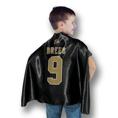 New Orleans Saints Drew Brees Kids Superhero Cape Saints