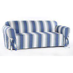 Box Cushion Sofa Slipcover Cushions On Sofa Striped Furniture Slipcovers For Chairs