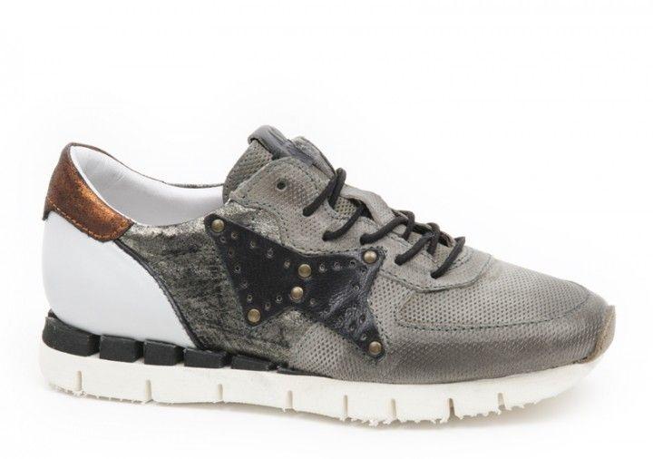 A.S.98 AIRSTEP Sneakers 139125 GRIGIO/BIANCO/NERO - grau/weiss/schwarz