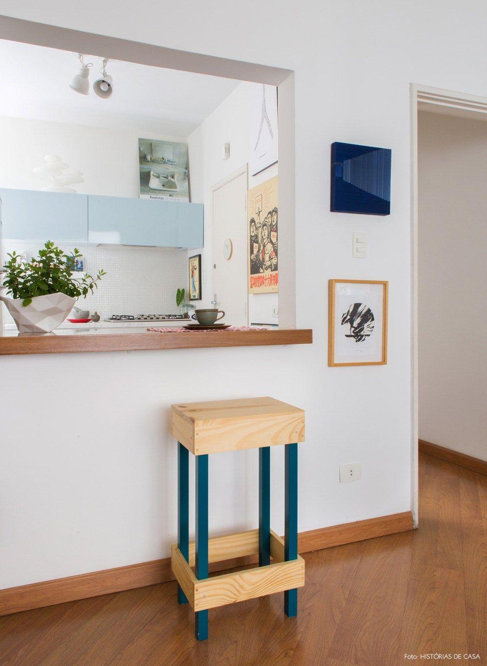 Reforma Em Etapas Predios Reformas E Apartamentos -> Abertura Entre Sala E Cozinha