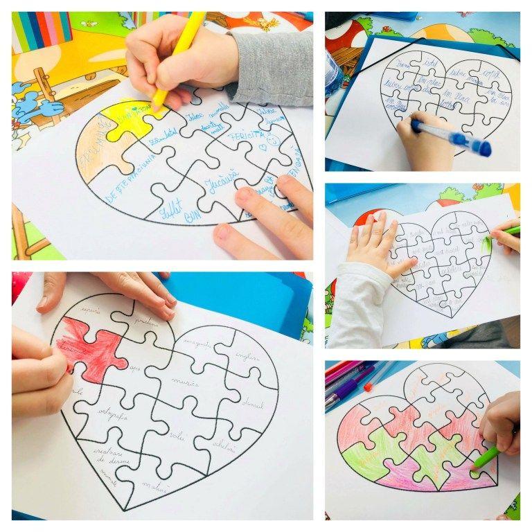 Jocuri pentru dezvoltare personala - Cinci jocuri colorate ...
