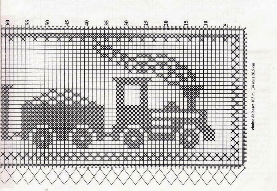 222 Crochet: curtains